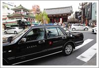 タクシー観光風景1