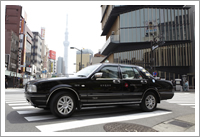 タクシー観光風景2
